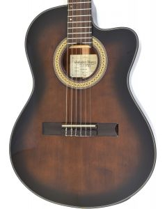 Ibanez GA35TCE Thinline Classical Acoustic Electric Guitar Dark Violin Sunburst B-Stock 1408 GA35TCEDVS.B 1408