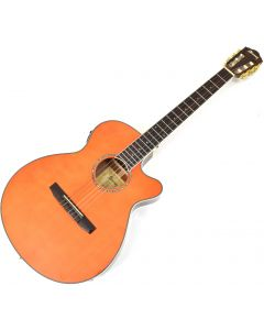 Ibanez AEG10NII Classical Acoustic Electric Guitar Tangerine B-Stock 0677 sku number AEG10NIITNG.B 0677
