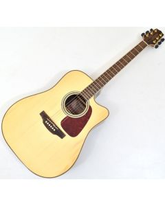 Takamine GD93CE-NAT G-Series G90 Cutaway Acoustic Electric Guitar in Natural Finish B-Stock 2279 TAKGD93CENAT.B 2279