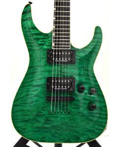 ESP Custom Shop Horizon Electric Guitar Trans Emerald Green sku number ECSHORIZONTEG6101