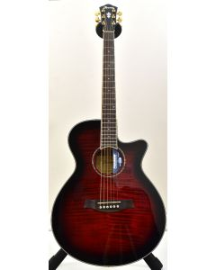 Ibanez AEG240 Thinline Acoustic Electric Trans Red Sunburst B-Stock 1199 AEG240TRS.B 1199