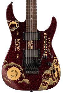 ESP LTD KH-Ouija Kirk Hammett Limited Edition Guitar Red Sparkle LKHOUIJARSP