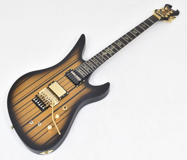 Schecter Synyster Custom-S Electric Guitar Satin Gold Burst B-Stock 1603 sku number SCHECTER1743.B 1603