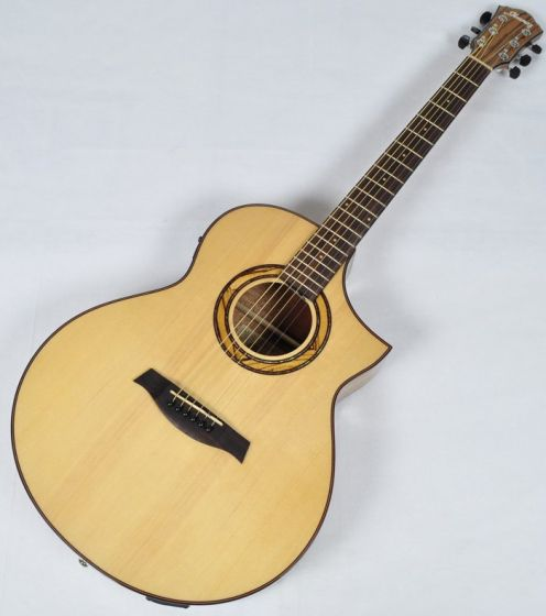 Ibanez AEW23ZW-NT AEW Series Acoustic Electric Guitar in Natural High Gloss Finish sku number AEW23ZWNT