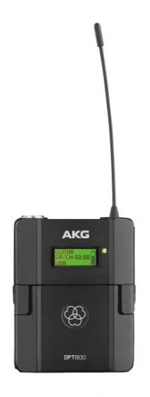 AKG DPT800 Digital Wireless Bodypack Transmitter 3382H00100