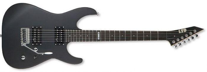 ESP LTD M-50 Guitar in Black Satin B-Stock LM50BLKS.B
