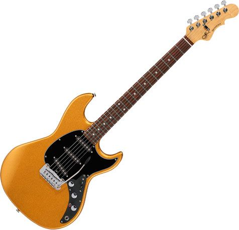 G&L CLF Research Skyhawk Electric Guitar Pharaoh Gold SKYHK-CLF-PHG-CR