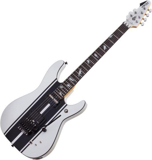 Schecter DJ Ashba Signature Electric Guitar Satin White SCHECTER279