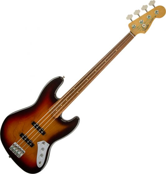 Fender Jaco Pastorius Jazz Bass Electric Guitar Fretless 3-Color Sunburst 0196208800