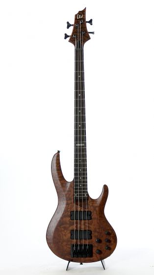 ESP LTD B-334 SBRN Stained Brown Sample/Prototype Electric Bass Guitar 1805 6SLB334SBRN_1805
