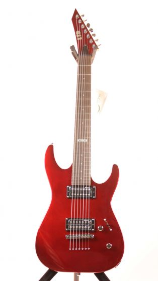 ESP LTD M-17 Candy Apple Red Limited Edition 7 String Electric Guitar 6SLM17CAR