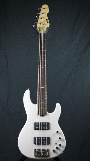 ESP E-II AP-5 STW See Thru White Bass Guitar 6SEIIAP5STW