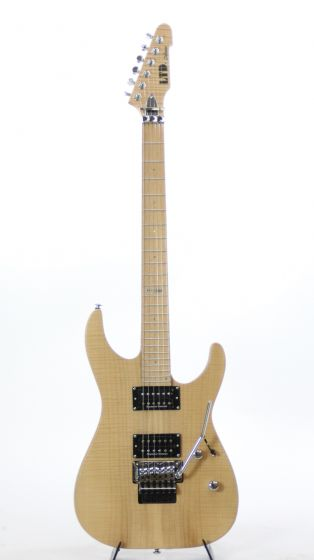 ESP LTD M-1000 SE Vintage Natural Satin Electric Guitar 6SLM1000SEVNS
