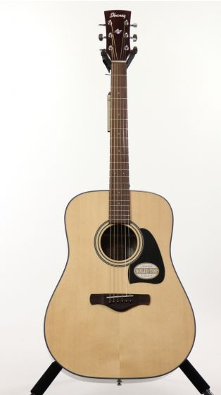 Ibanez AW58 NT Artwood Natural High Gloss Acoustic Guitar sku number 6SAW58NT