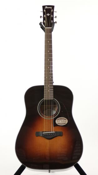 Ibanez AW4000 BS Artwood Brown Sunburst Gloss Acoustic Guitar 6SAW4000BS