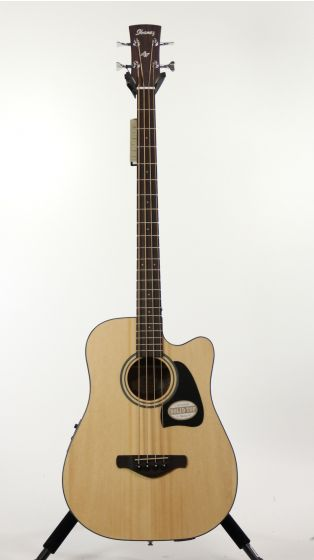 Ibanez AWB50CE Artwood Natural Low Gloss Acoustic Electric Guitar 6SAW850CENT