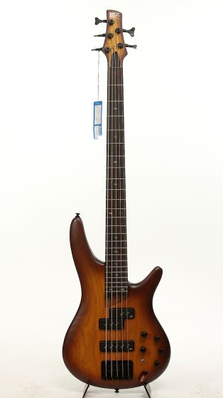 Ibanez SR655 BBF Brown Burst Flat Electric Bass Guitar 6SSR655BBF