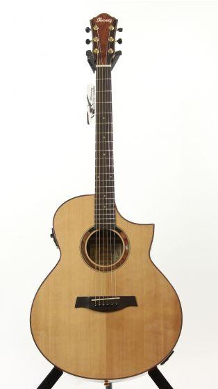 Ibanez AEW120BG NT Natural High Gloss Acoustic Electric Guitar sku number 6SAEW120BGNT