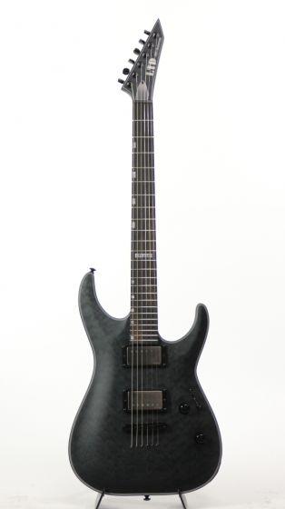 ESP LTD MH-2015 40TH Anniversary See Thru Black Satin Electric Guitar 6SLMH2015