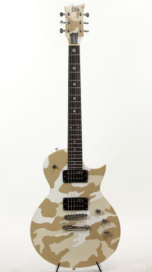 ESP LTD WA-200 WHC Will Adler Lamb Of God White Camo Electric Guitar 6SLWA200WHC
