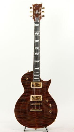 ESP ECLIPSE 40TH TE 2015 Tiger Eye Electric Guitar #27/40 6SEECL40TE_27