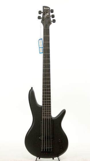 Ibanez GWB35FD BKF Gary Willis Black Flat 5 String Bass Guitar 6SGWB35FDBKF