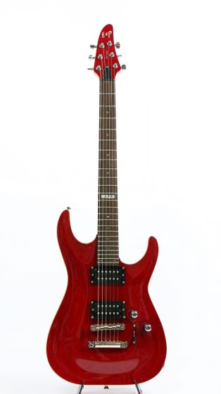 ESP Horizon NT Bolt-On See Thru Red Electric Guitar Rare NOS MIJ 6SEHORNTSTR_6313