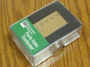 Seymour Duncan TB-PG1B Trembucker Pearly Gates Pickup Gold Cover 11103-49-Gc