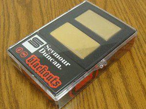 Seymour Duncan AHB-1S Original Blackouts Neck/Bridge Pickup Set Gold Cover 11106-32-Gc
