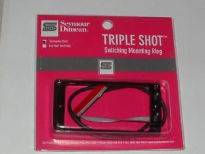 Seymour Duncan TS-1S Triple Shot Mounting Ring Switching System Flat Set 11806-02