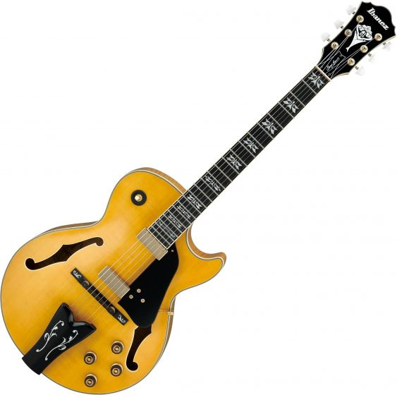 Ibanez George Benson Signature GB40THII Hollow Body Electric Guitar Antique Amber GB40THIIAA