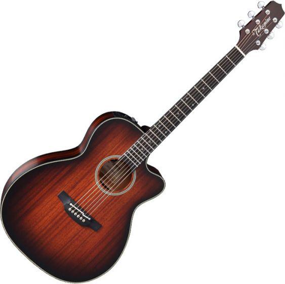 Takamine CP771MC SB OM Cutaway Acoustic Electric Guitar Shadow Burst Satin TAKCP771MCSB