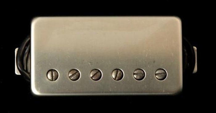 Seymour Duncan Humbucker SH-14 Custom 5 Nickel Cover 11102-84-Nc