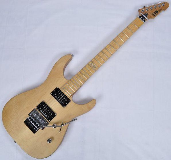 ESP LTD Deluxe M-1000SE Electric Guitar in Vintage Natural Satin LM1000SEVNS