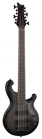 Dean Rhapsody 12 Bass Guitar Trans Black RH12 TBK RH12 TBK