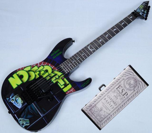 ESP LTD KH-NOSFERATU Kirk Hammett Limited Edition Guitar With Case LKHNOSFERATU