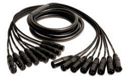 Mogami Gold 8 XLR-XLR Cable 10 ft. GOLD 8 XLR-XLR-10