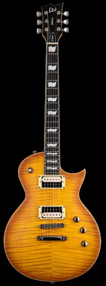ESP LTD EC-1000T Honey Burst Satin Fishman Fluence Electric Guitar LEC1000TFMHBSF