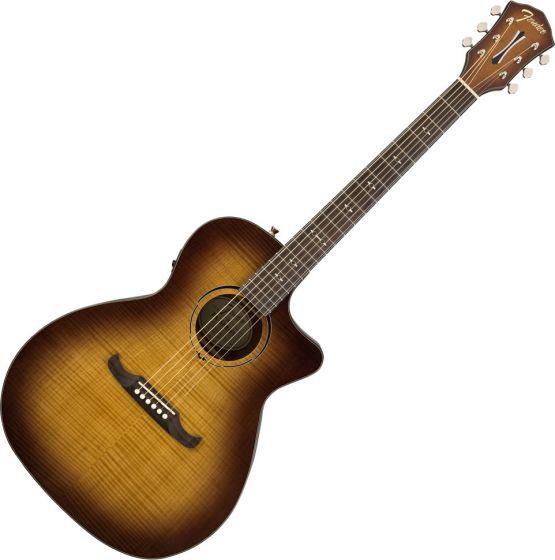 Fender FA-345CE Auditorium Acoustic Guitar 3-Tone Tea Burst 0971343064