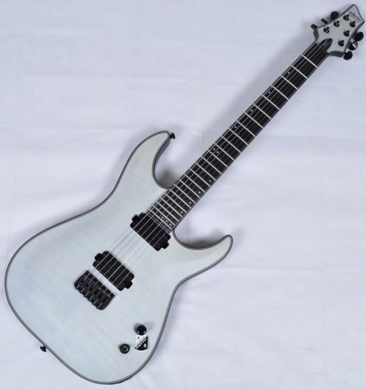 Schecter KM-6 Keith Merrow Electric Guitar Trans White Satin SCHECTER242