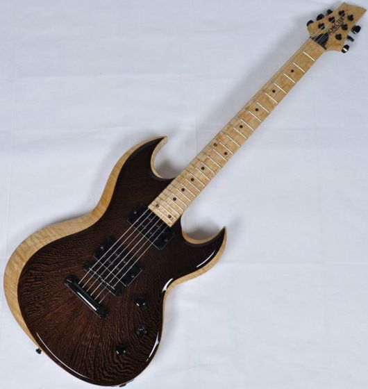 Schecter Masterwork Prowler-II Wenge Natural Gloss Electric Guitar SCHECTERMWKP2NAT