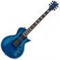 ESP LTD EC-1000 Piezo Quilted Maple Electric Guitar See Thru Blue LEC1000PIEZOQMSTB