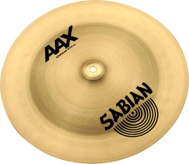 "Sabian 18"" AAX Chinese 21816X"