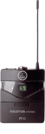 AKG PT45 BD A High-Performance Wireless Body-Pack Transmitter 3247H00010