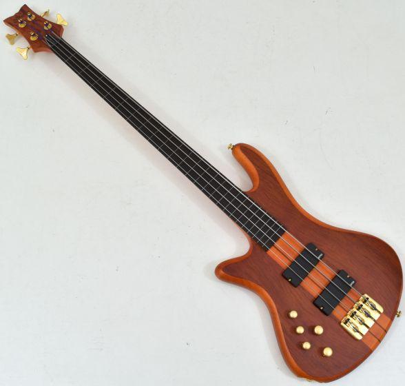 Schecter Stiletto Studio-4 FL Left-Handed Electric Bass Honey Satin sku number SCHECTER2765