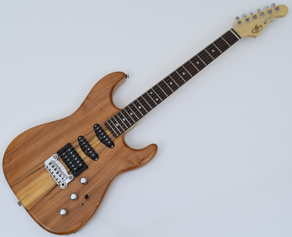 g l usa legacy spalted alder top electric guitar in natural gloss finish 762047960234 ebay. Black Bedroom Furniture Sets. Home Design Ideas