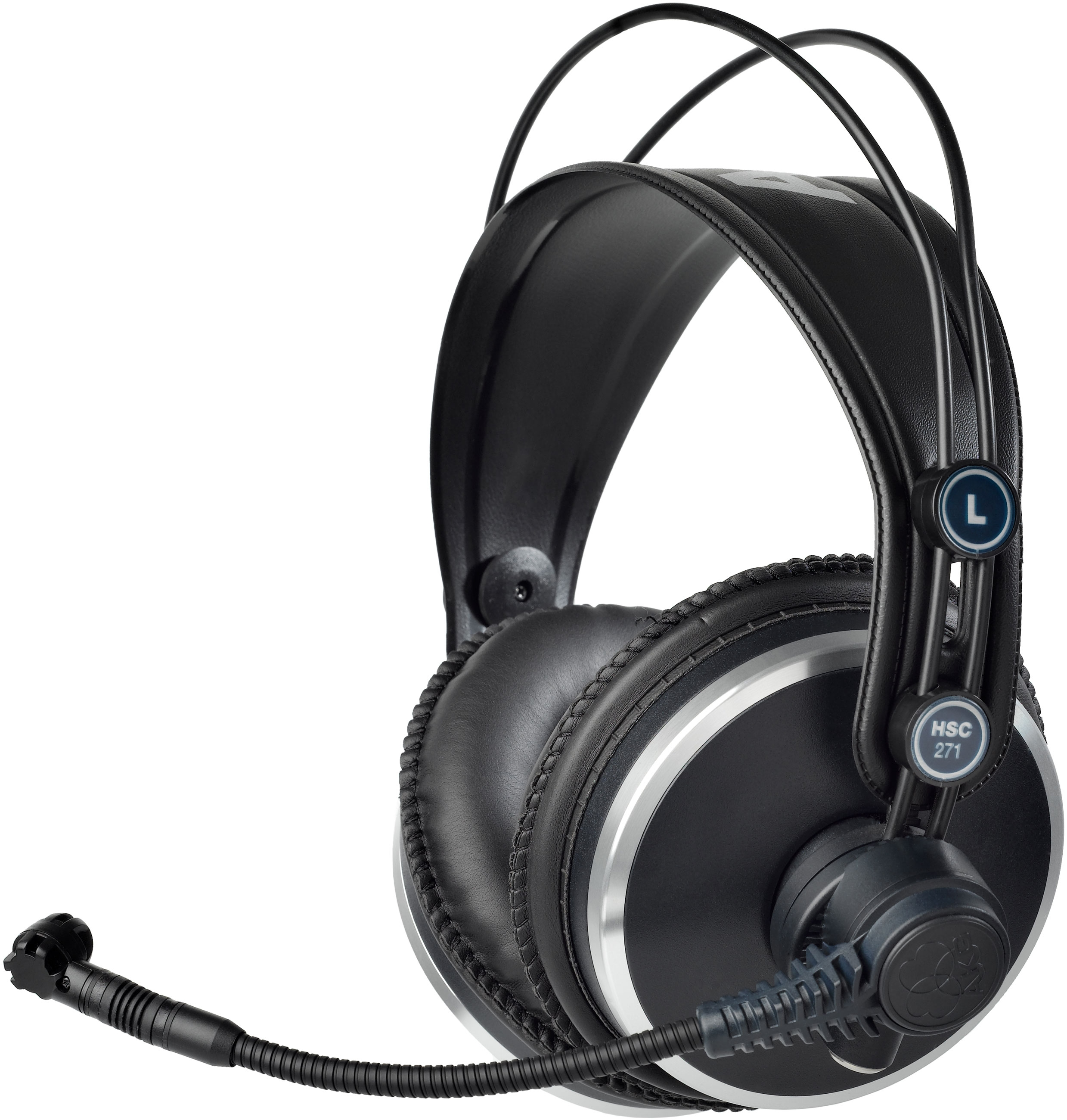 akg hsc217 professional headsets with condenser microphone ebay. Black Bedroom Furniture Sets. Home Design Ideas