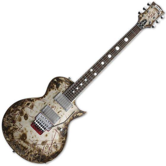 ESP Richard Z RZK-II Burnt Electric Guitar with Case