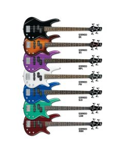 Ibanez GSRM20-MPL miKro Series Electric Bass in Metallic Purple Finish GSRM20MPL