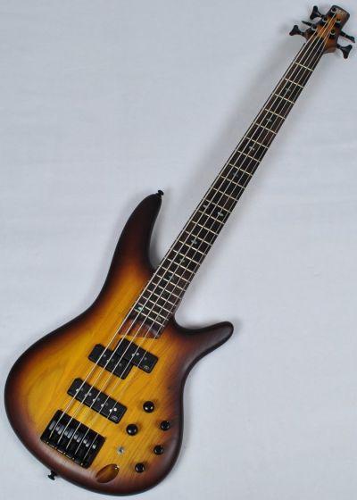 Ibanez SR655-BBF SR Series 5 String Electric Bass in Brown Burst Flat Finish
